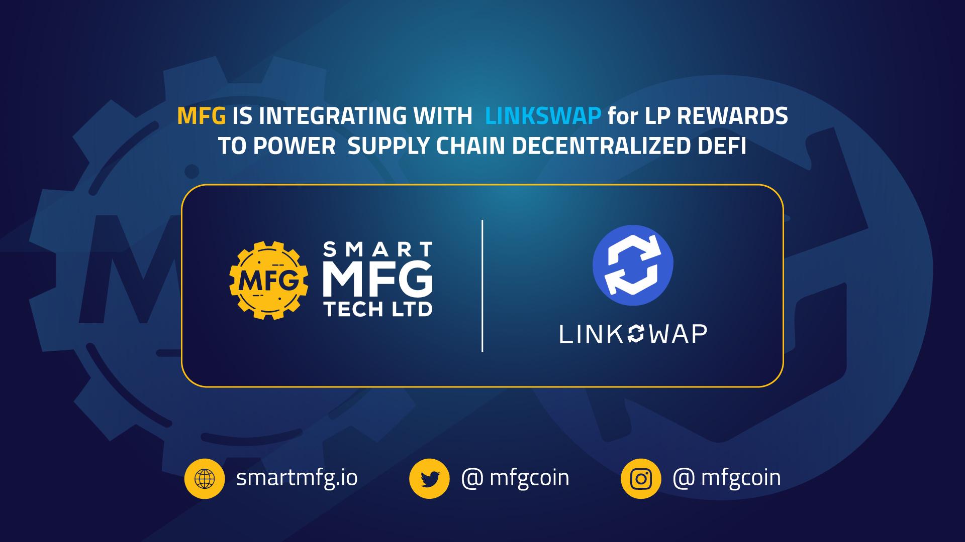 MFG-Linkswap-LP-Rewards-Integration
