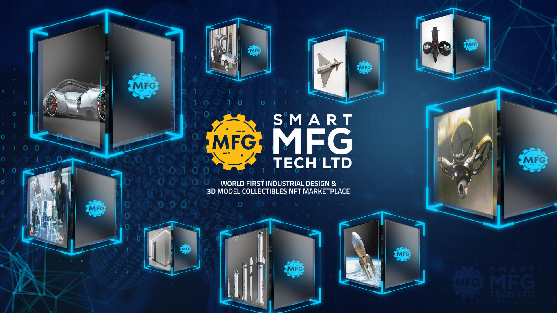 Smart-MFG-Tech-3dmodel-industrial-design-NFT-marketplace